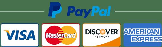 Πληρωμή με PayPal / Χρεωστική ή Πιστωτική Κάρτα.